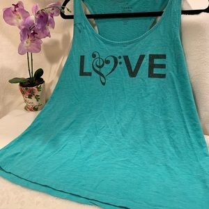 TORRID love note tank top